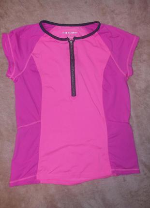 Спортивная женская футболка/ велофутболка