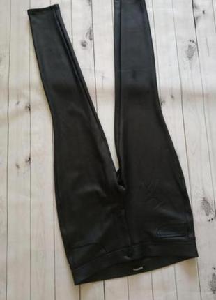 Брюки кожаные лосины штаны леггинсы эко кожа. возможен обмен