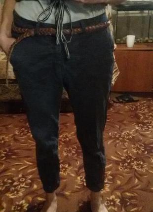 Укороченне классические брюки zara