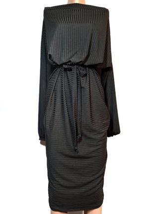 Класне плаття в рубчик boohoo