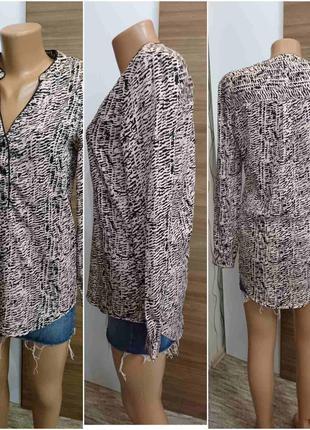 Удлинённая рубашка  блузка jacqueline de youg