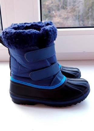 Термо ботинки кежуали сапожки чоботи kuniboo 26