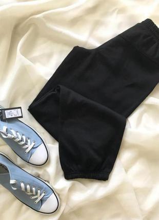 Джоггеры утеплённые брюки спортивные штаны на флисе