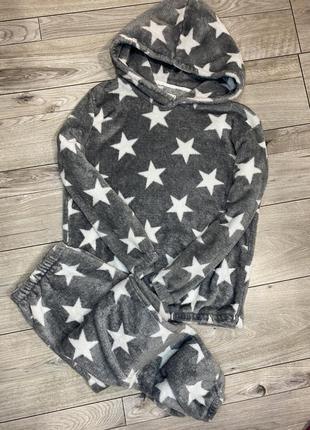 Пижама тёплая флисовая