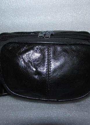Удобная сумка пояс 100% натуральная кожа (1)