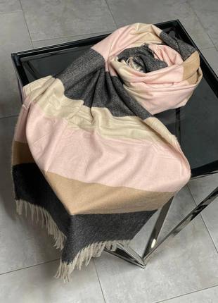 Теплий кашеміровий шарф-палантин