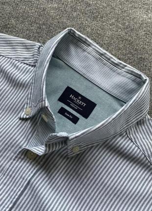 Гарна сорочка hackett london в полоску  slim fit