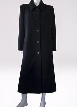 Классическое длинное пальто, шерсть и кашемир в составе, classic, англия