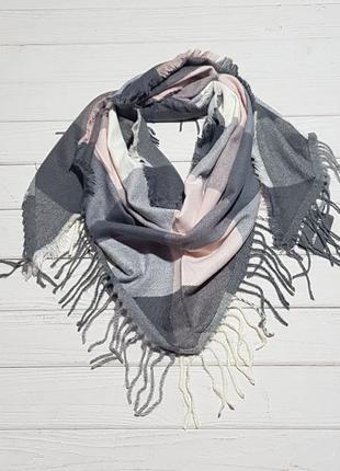 Косынка женская кашемир теплая 170×60 см