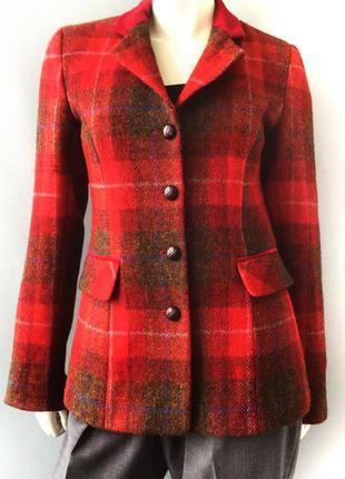 Очень красивое шерстяное теплое пальто-пиджак бренда eliz scott, англия