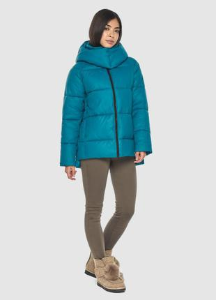 Распродажа трендовая аквамариновая куртка тм moc(албания)