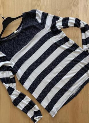 Базовая кофта кофточка тельняшка, свитер