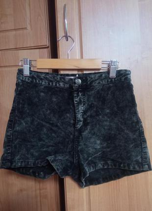 Велюровые шорты bershka