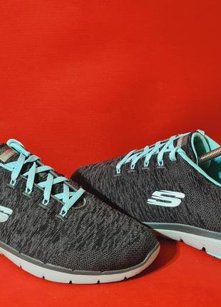 Skechers flex appeal 3.0 43р. 27.5см кроссовки для бега и тренировок