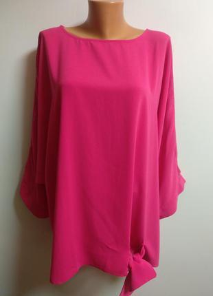 Новая малиновая красивая блуза 32/66-68 размера