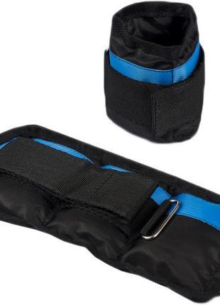Утяжелители champion 2 шт по 0.25 кг черно-синие