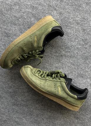 Оригінальні кросівки adidas topanga clean green shoes