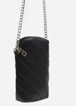 Стеганная мини-сумочка чехол для телефона
