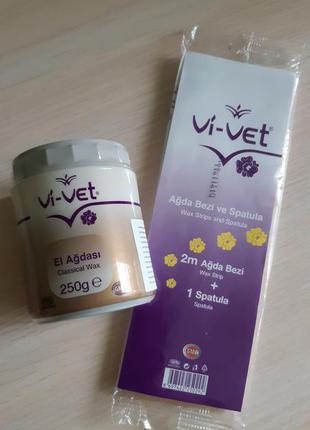 Классическая паста для шугаринга/сахарной депиляции vi-vet турция юнайс , 250 г