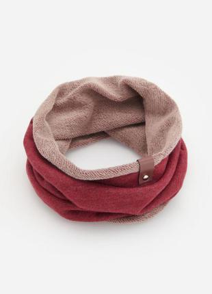 Стильный хлопковый шарф хомут reserved