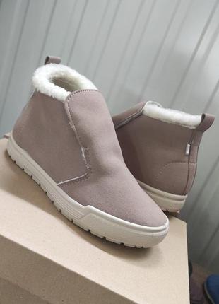 Женские зимние ботинки на меху, еврозима