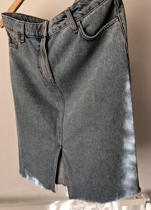 Юбка джинсова new look