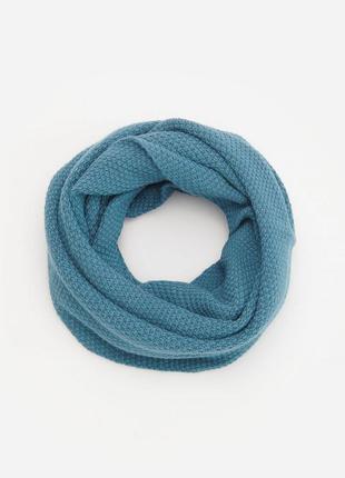 Стильный трикотажный шарф снуд reserved