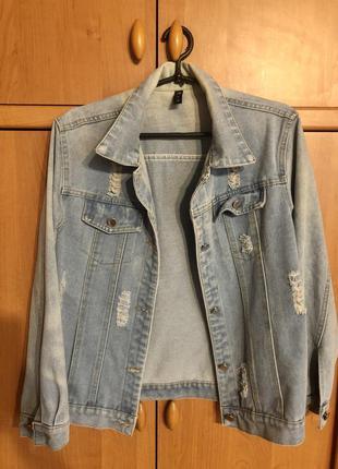 Джинсовка джинсовая курточка