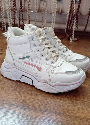 Кроссовки зима, ботинки, теплые кроссовки
