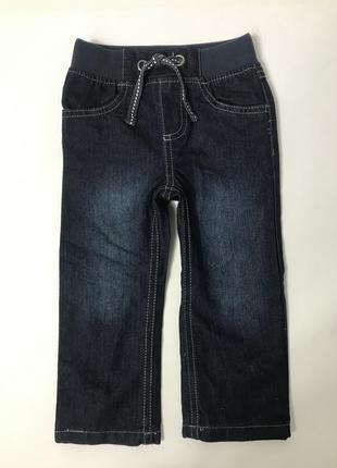 Джинсы на мальчика lupilu утеплённые джинсы для деток