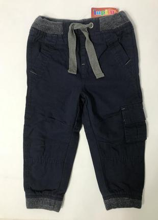 Утеплённые штаны джогеры на мальчика lupilu