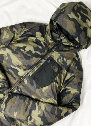 Двустороння куртка the north face p.s/m