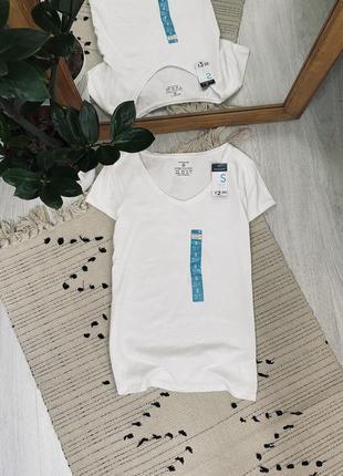 Нова базова котонова біла футболка від primark🌿
