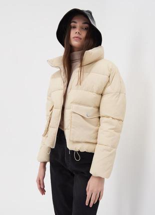 Куртка пуффер sinsay