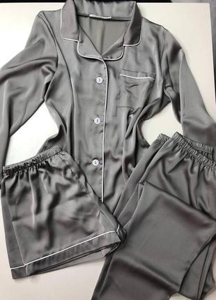 Пижама набор шелк