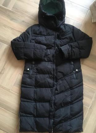 Пуховик длинны био-бух, зимняя  длинная куртка