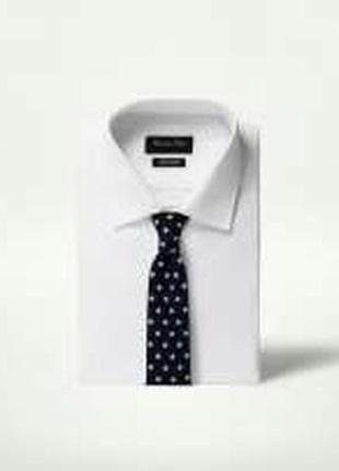 Вязаный галстук massimo dutti