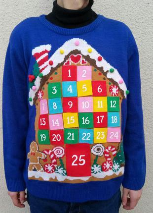 Рождественский и новогодний свитер