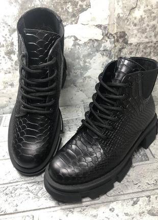 Распродажа! кожаные ботинки. 10 моделей