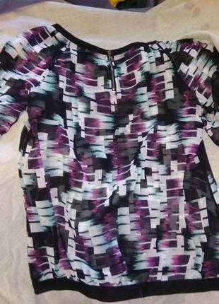 Блуза - парео шифоновая.