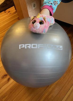 Гимнастический мяч для занятий спортом или с грудничком profiball