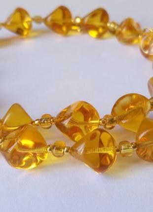 Ожерелье, муранское стекло. италия