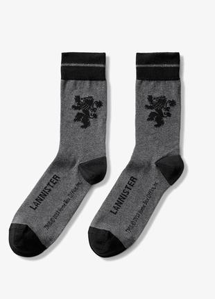 """Качественные носки, тематика """"игры престолов"""", lannister, германия"""