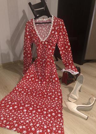 Винтажное платье, винтаж, вінтажна сукня, вінтажне плаття, котон