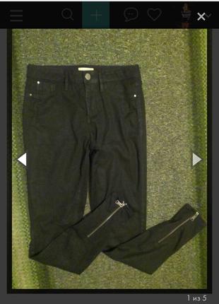 Черные штаны скинни от river island
