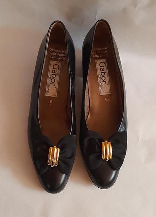 Невероятно комфортные кожаные туфли от немецкого бренда gabor