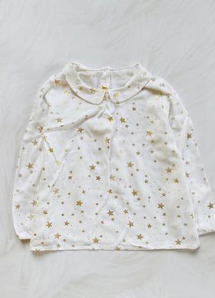 Matalan стильная блузка на девочку 4-5 лет