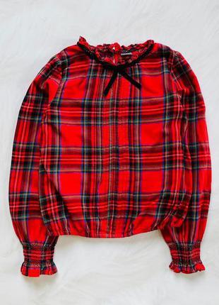 Next стильная блузка на девочку 9 лет