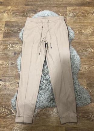 Шерстяные шикарные штаны gardeur