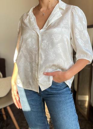 Белая блузка, рубашка maje оригинал